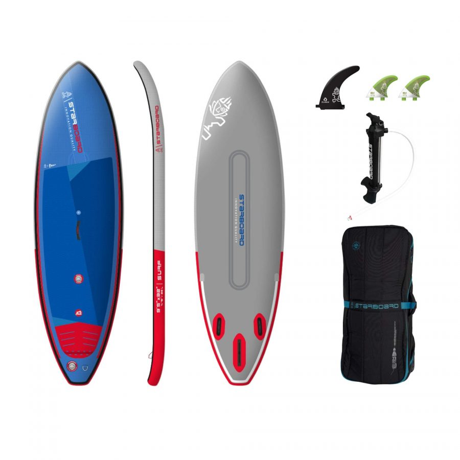 2022 Starboard 9'5 x 32 Surf Deluxe Inflatable Stand Up Paddle Board