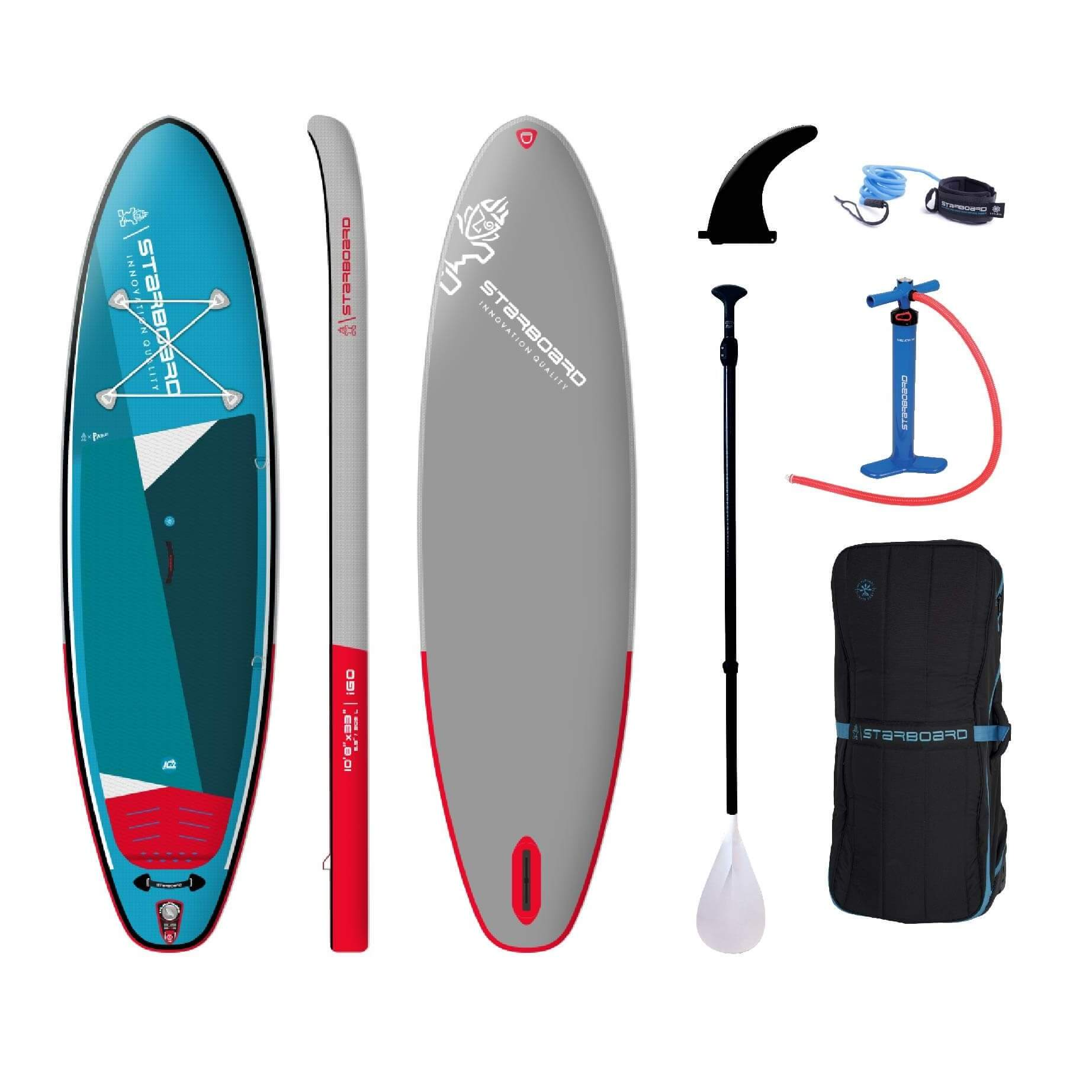 2022 Starboard iGO Zen Inflatable Stand Up Paddle Board