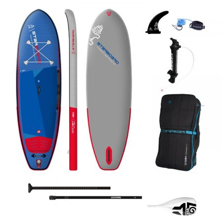 """2022 Starboard iGO Deluxe 10' x 34"""" Inflatable Stand Up Paddle Board"""